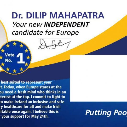 Dr Dilip Mahapatra for MEP (Member of European Parliament)
