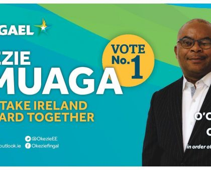 Okezie Emuaga for Balbriggan Ward local election