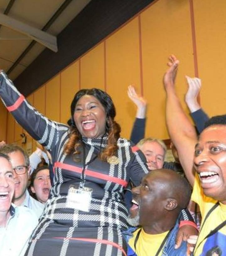 Yemi Adenuga bags the first black woman councilor in Ireland